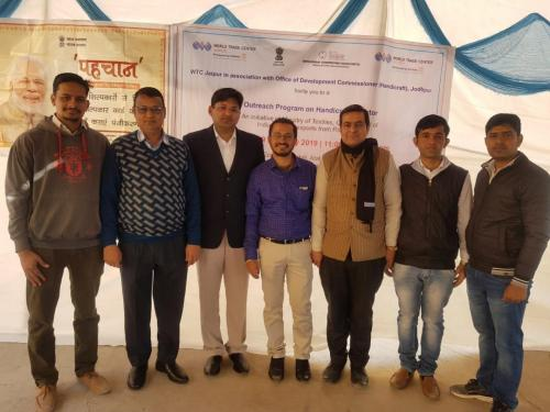 9 Feb 2019 - WTC Jaipur organizes Handicrafts Outreach Program